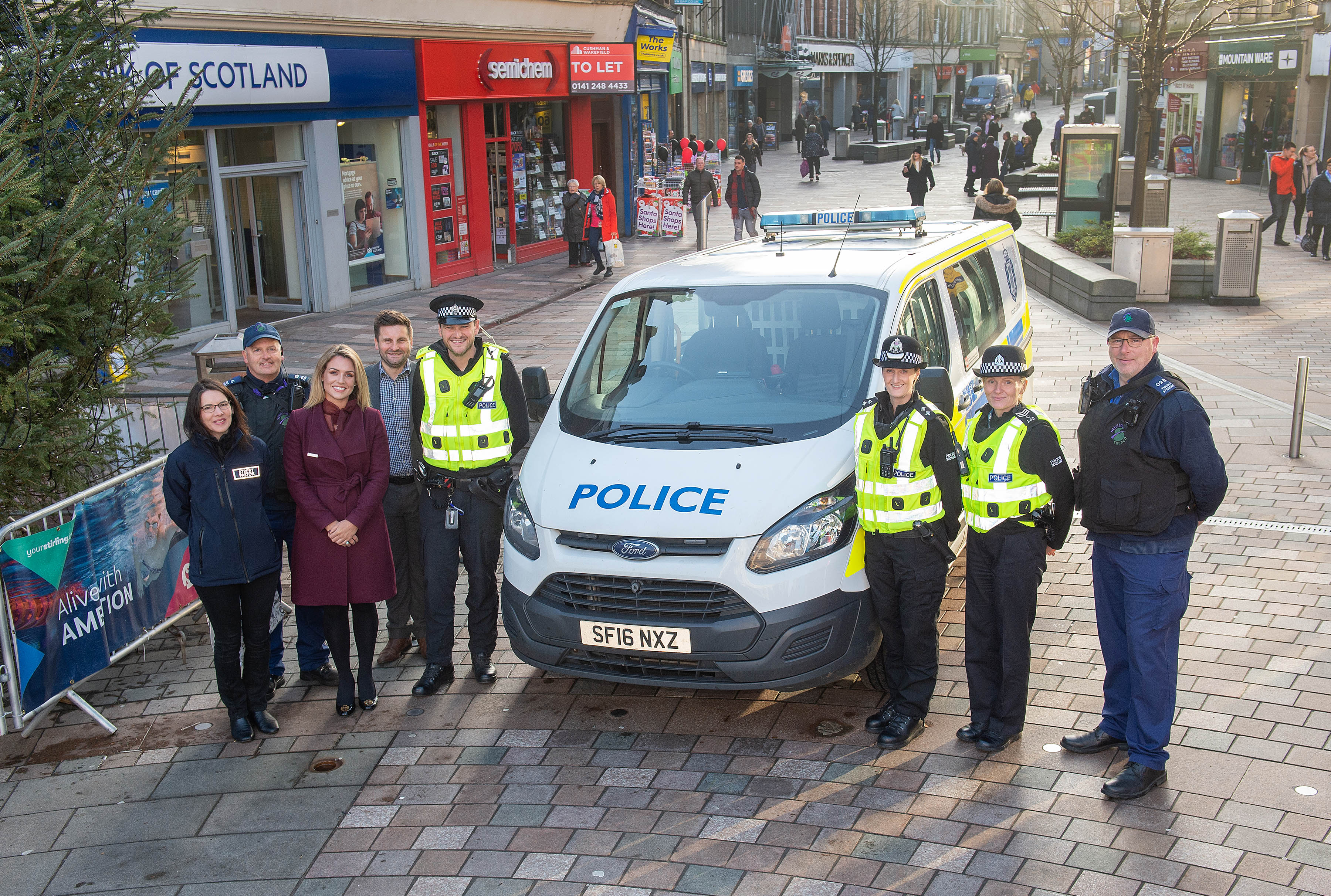 Steadfast - Safer Community Team and Police Scotland
