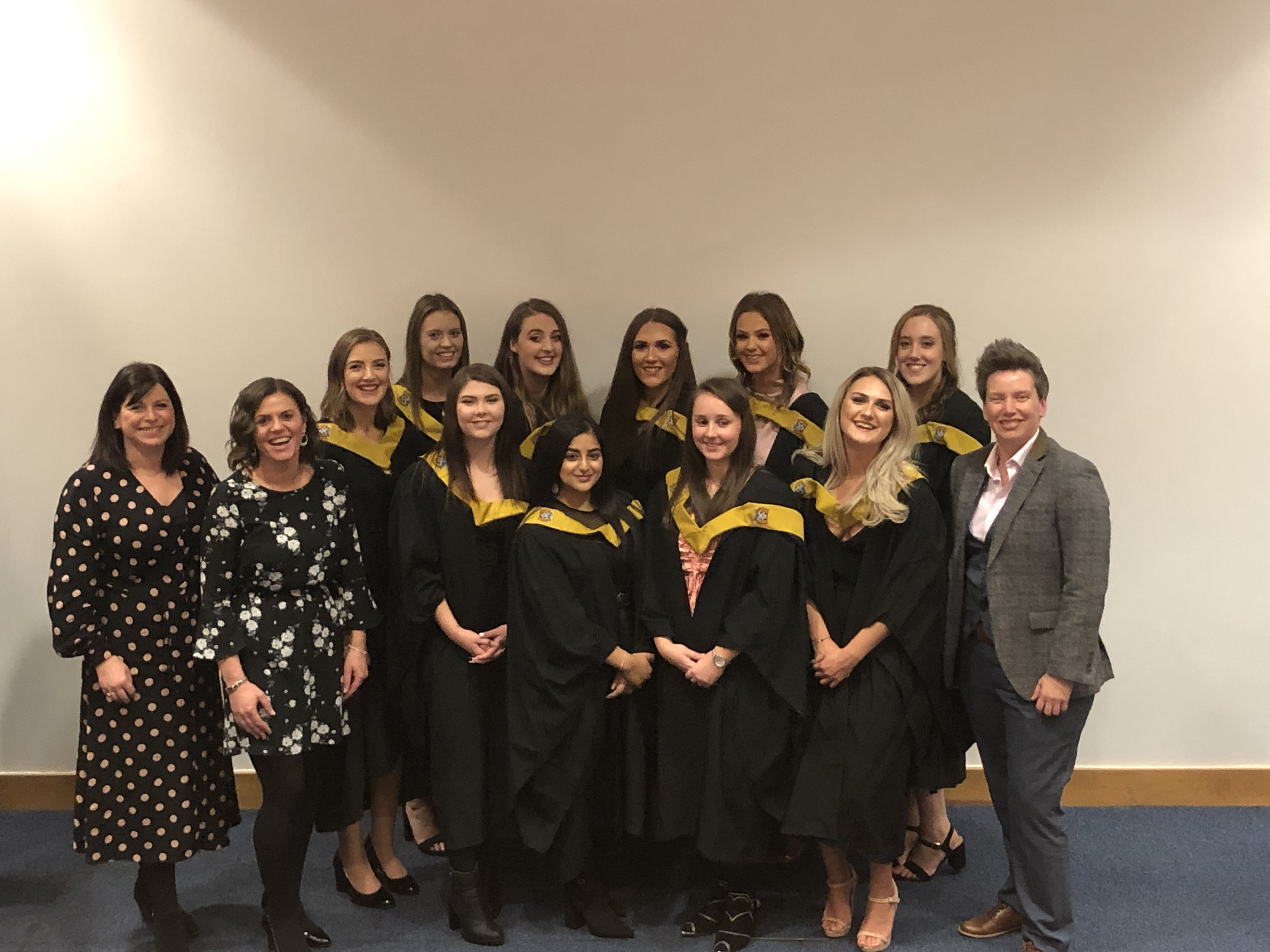 Childcare expansion recruits celebrate their graduation