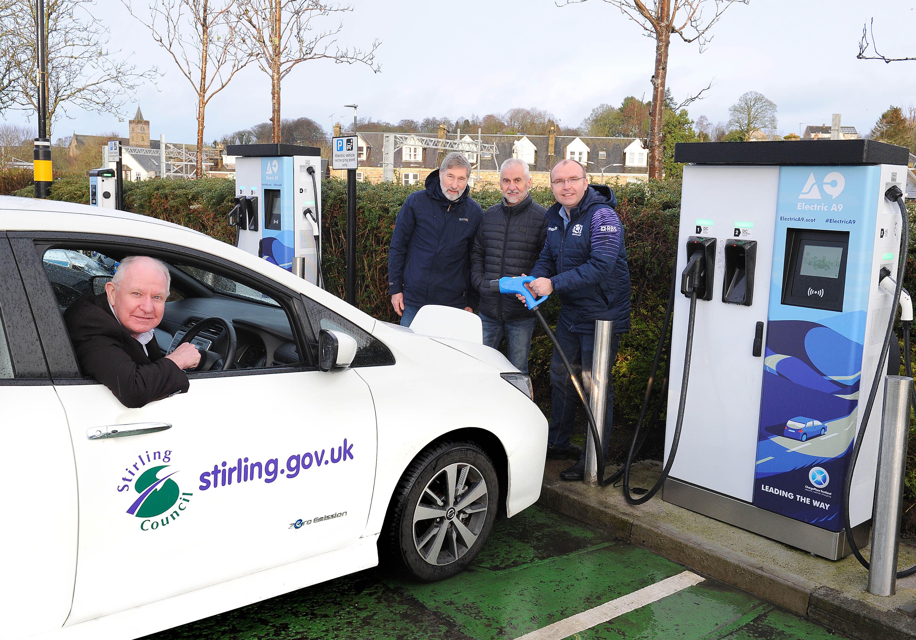 Dunblane EV Chargers