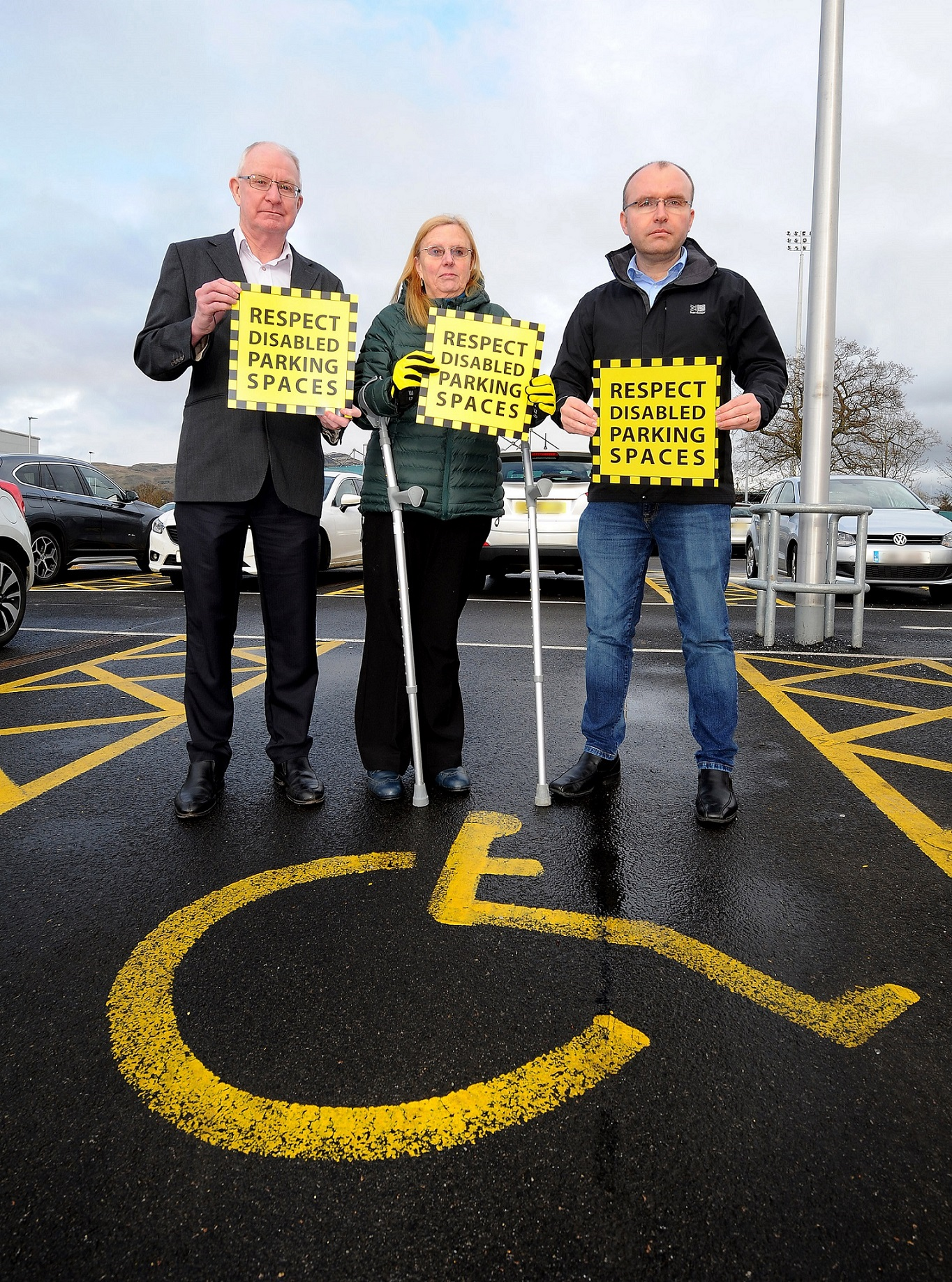 Campaign against disabled parking