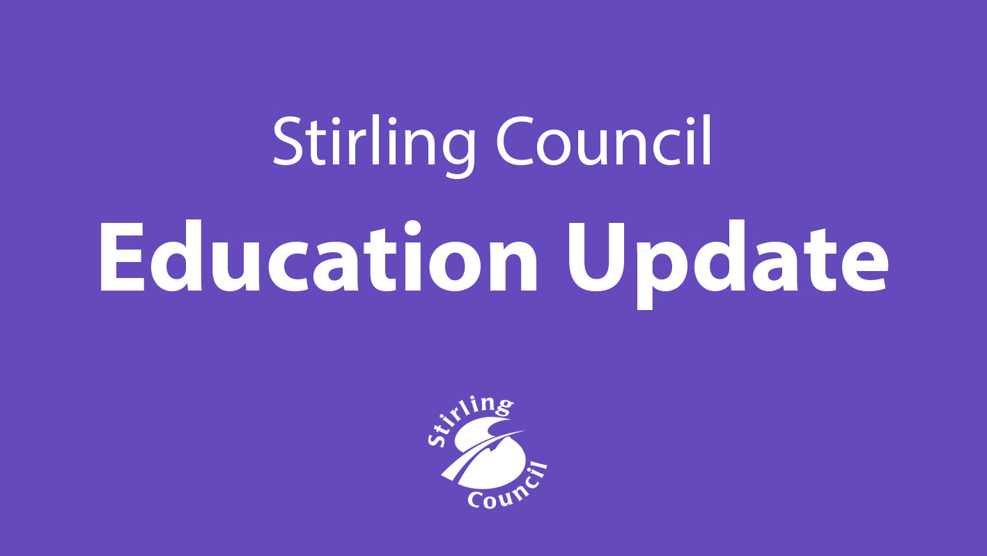 Education Update logo from Stirling Council