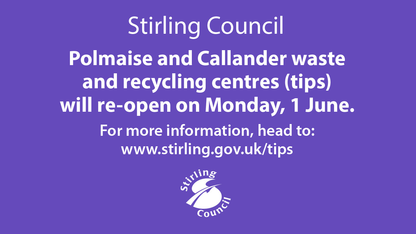 Re-opening of waste and recycling centres