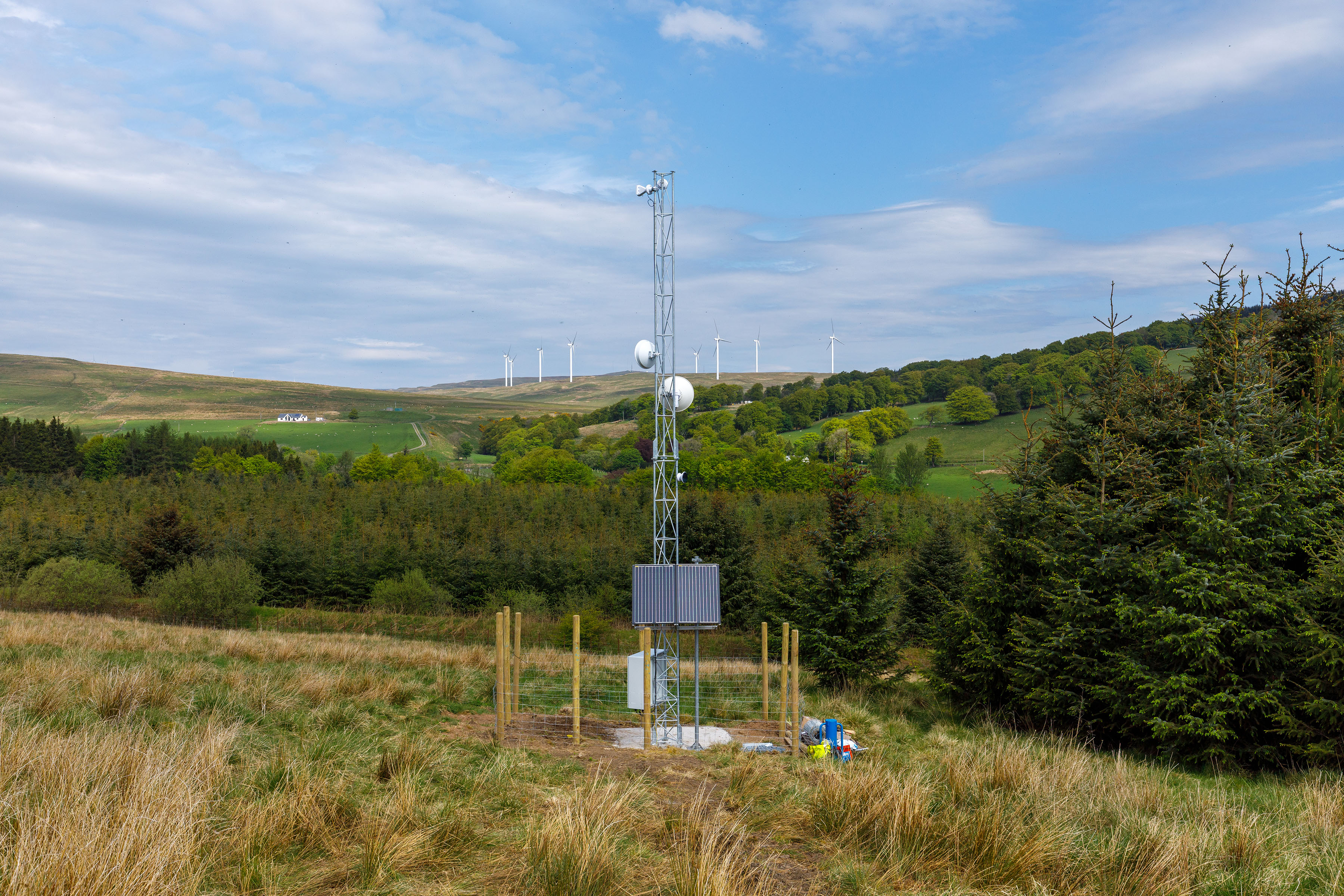 Fixed Wireless Technology in rural Stirling