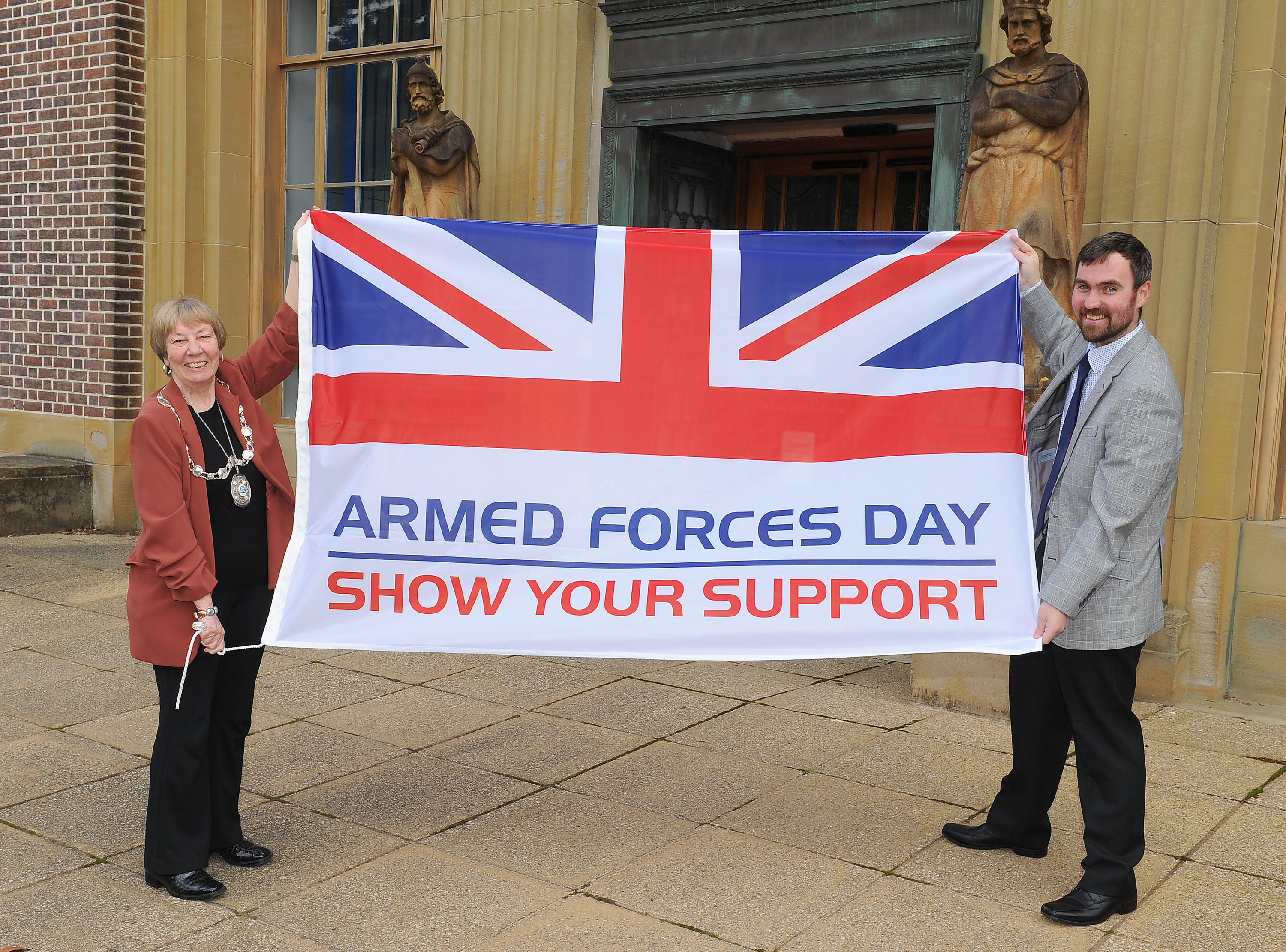 Armed Forces Day Flag Raising