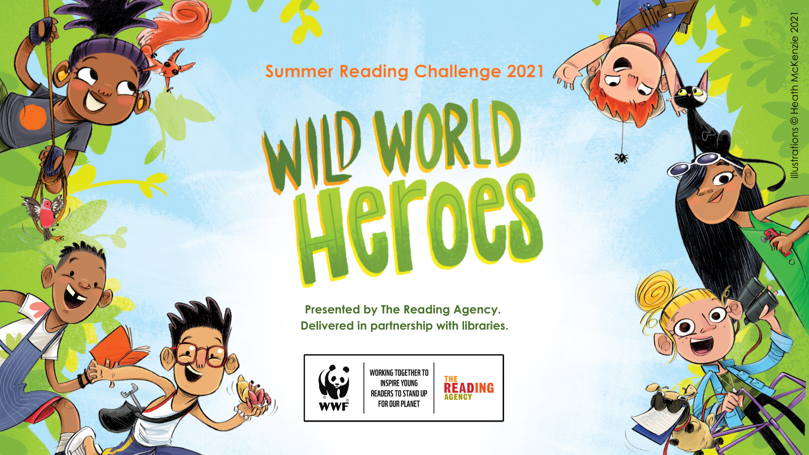 The Reading Agency's Summer Reading Challenge 2021, Wild World Heroes