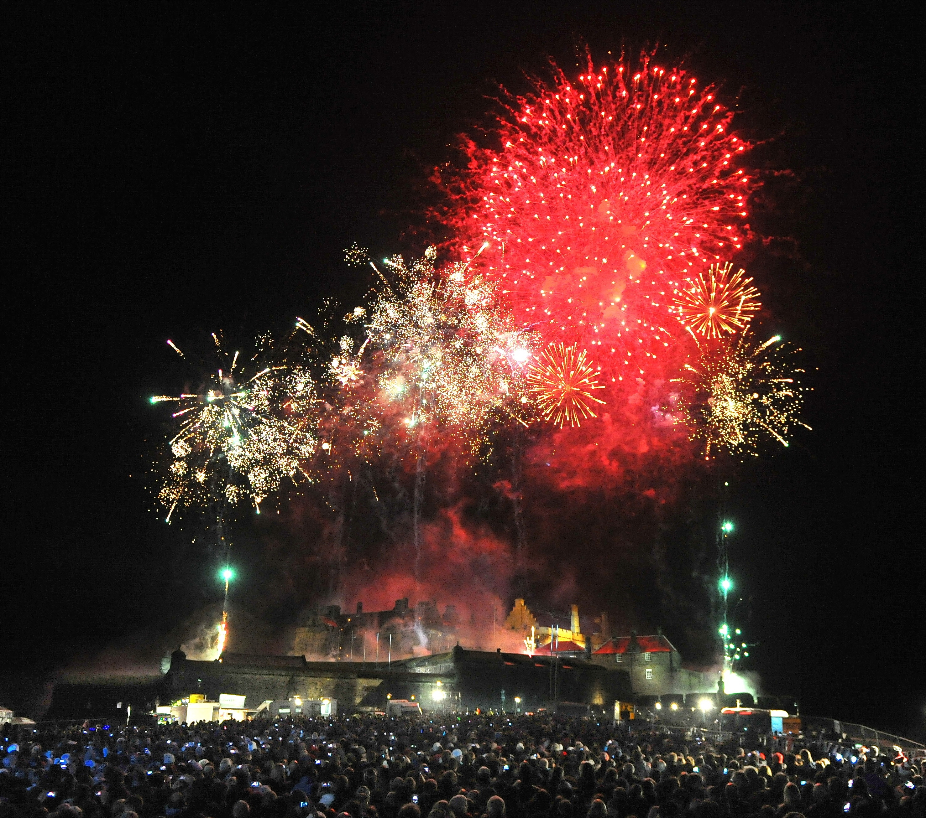 Live music line-up revealed for Stirling's spectacular Hogmanay