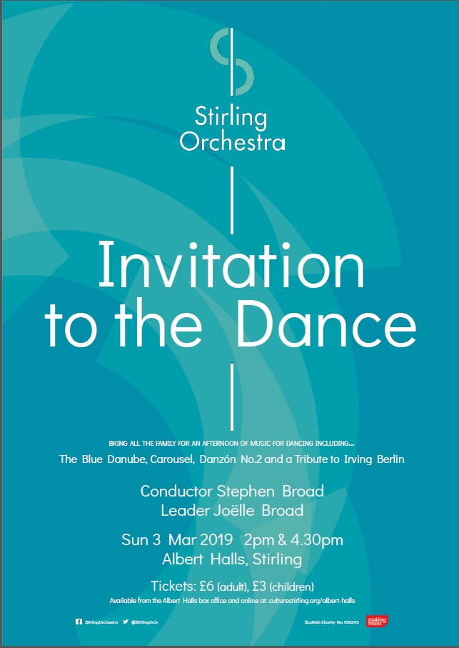 Invitation to the Dance Poster