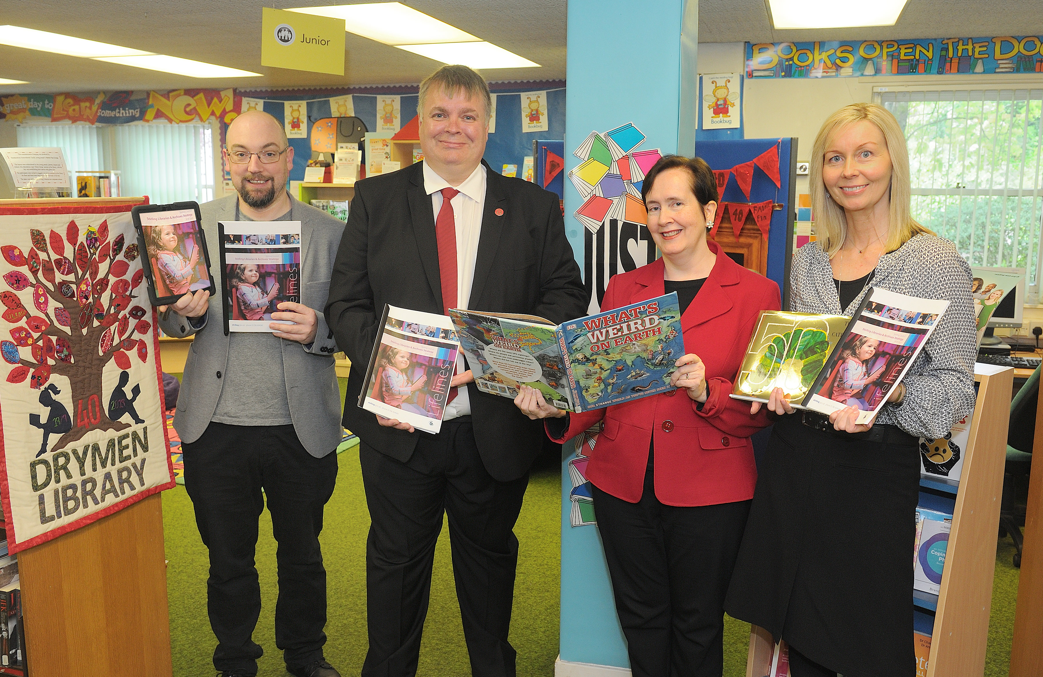 Drymen Library Councillor Visit